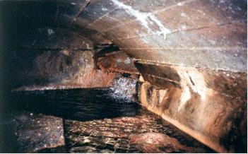 Bunkerquelle im Jahr 2002 (untere Tannelquelle)