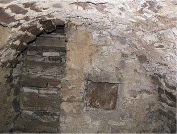 Römischer Keller unter dem Anwesen Adlerstraße 66