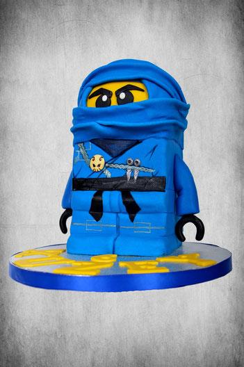 ninja 3d cake