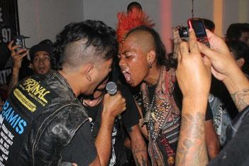 A small part of the massive Indonesian punk scene (Photo: Karli Kk Munn)