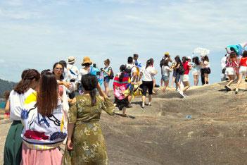 Chinesen, Ausland, auf Reisen, Gruppenreisen, Die Traumreiser