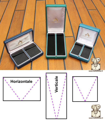 leather jewelry box haute joaillerie Ecrin made in France in Paris Adam nelley