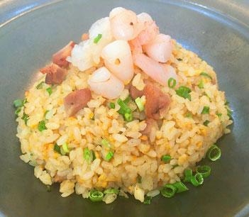 海老炒飯、チャーハン、こだわり、安心安全、激辛、中華料理