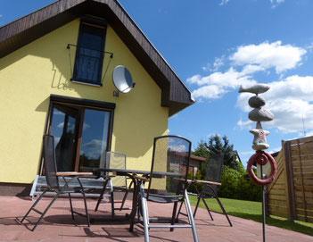 Ferienwohnung Bad Freienwalde Ferienhaus Bungalow am See in Brandenburg