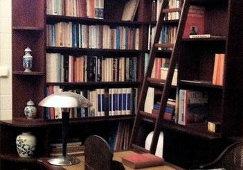 Un coin de la librairie à La Malle du Gouverneur...