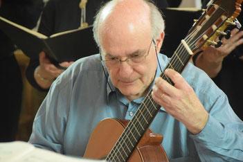 Pascal Bolbach a accompagné l'Ensemble Axonance.