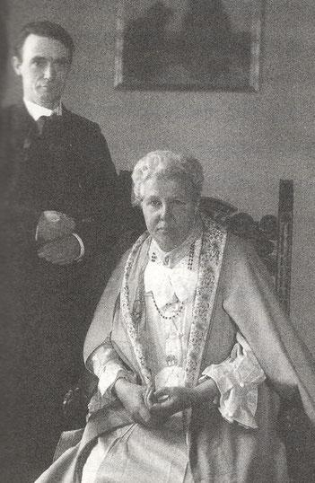 Rudolf Steiner mit Annie Besant