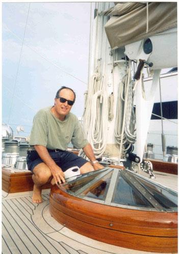 """On board of """"Alejandra"""" 2003"""