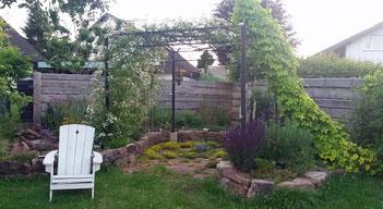Gartenbau Sonnenecke Tockenmauer