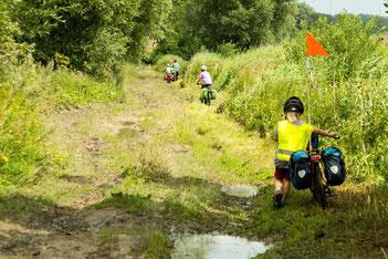 fahrradreise, polen, familie unterwegs