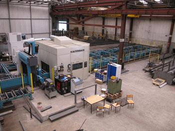 Kaltenbach Bohr-Klinkanlage mit 5-Achsen Roboter