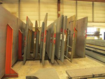 70.000 kg Stahl auf engstem Raum