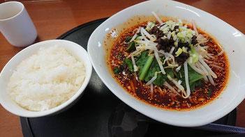 天府仙臺 四川担担麺 ライス