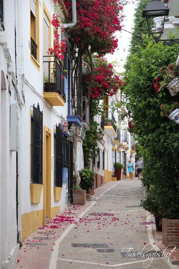kleine Gassen von Marbella
