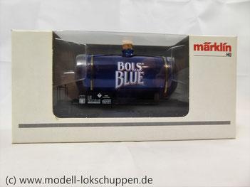 Märklin 44525  Glaskesselwagen Bols Blue Underberg AG MHI Sondermodell