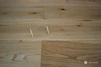 アンドウッド 補修 盛り上がり 単板貼 フローリング andwood 4