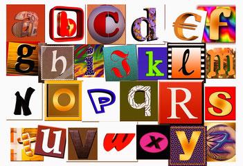 Bild: Buchstaben, Alphabet