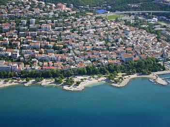 Апартаменты в Цриквенице. Отдых в Хорватии.
