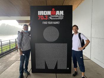 2 GSBV-Teilnehmer an IRON MAN 70.3