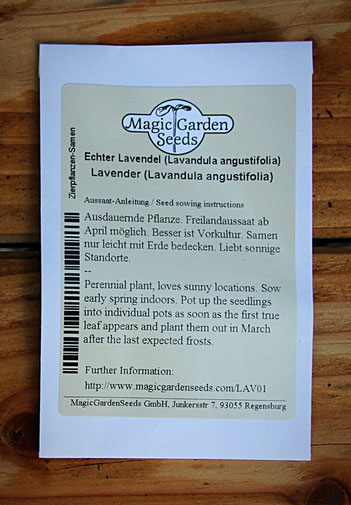 Magic Garden Seeds - Lavendel
