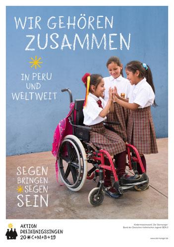 Sternsinger-Plakat 2019
