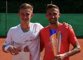 Finalist Tim Heger und Turniersieger Marvin Netuschil - Foto: Stephan Gimpl