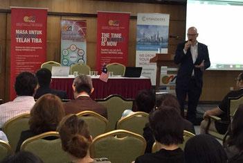 Expandeers (Malaysia) together with MATRADE @ TradeTalk in Kuala Lumpur