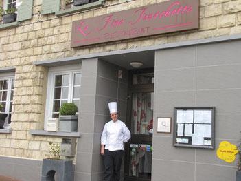 Restaurant la fine fourchette idéalement situé à falaise