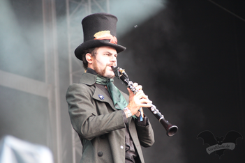Coppelius, M'era Luna-Festival 2015 / Foto: Dunkelklaus