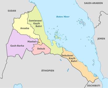 Aus keinem Land Afrikas kommen so viele Geflüchtete nach Europa wie aus Eritrea - sie fliehen vor Zwangsarbeit, unbefristetem Militärdienst und willkürlichen Inhaftierungen. (Bild: Wikipedia)