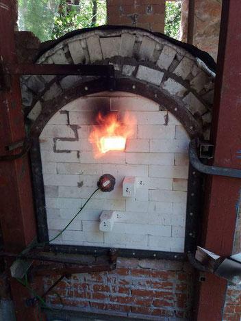 il forno é andato.