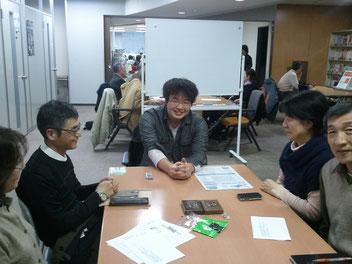 鴨志田玲緒さんと楽しいひと時を過ごしました。