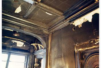 Brandschaden, Villa in Berlin Grundewald