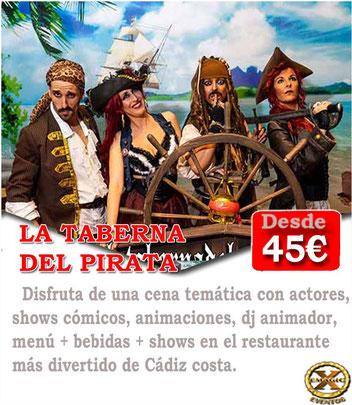 Cenar en Cadiz para despedidas