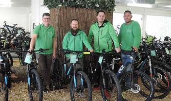 Die e-motion e-Bike Experten in der e-motion e-Bike Welt in Stuttgart