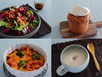 健康・キレイをつくる毎日の食事と知識を提供する「OTONA ABCクッキングスタジオ」監修レシピを、シェフが調理したCOTONOWA限定ランチ。