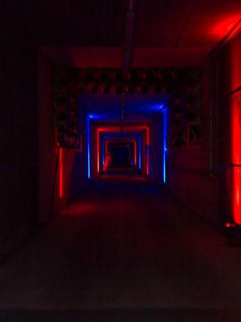 Wir können illuminierte Tunnel