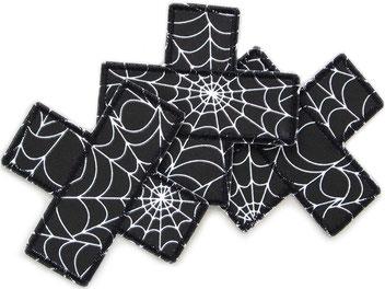 Bild: Hosenpflaster Hosenflicken Spinnweben