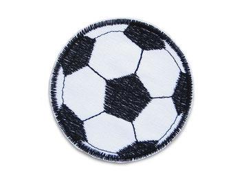 Bild: Applikation Aufnäher Fußball Patch zum aufbügeln für Jungen