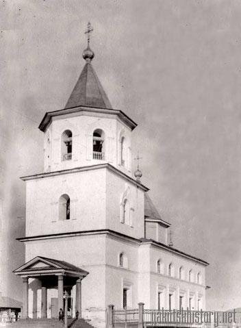 Спасская церковь в Олекминске. Снимок П.И. Злыгостева