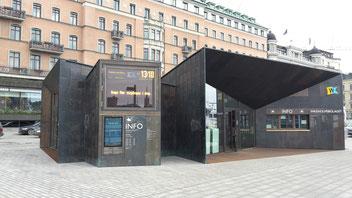 Zentraler Terminal der Waxholmsbolaget in Stockholm