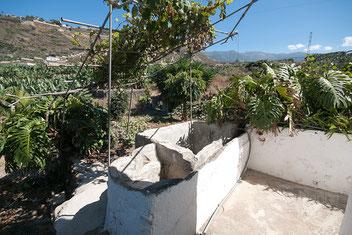 Alter Waschplatz... mit Terrasse