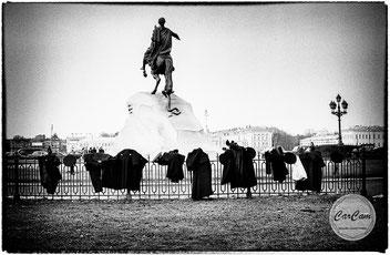 Saint-Petersbourg, art, noir et blanc, black and white, travel, CarCam je shoote