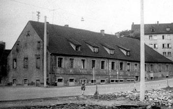 dudweiler, saarland, bergbau, schlafhaus, fischbachstraße, 1852