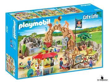 """Bei der Bestellung im Onlineshop der-Wegweiser erhalten Sie das Playmobil Paket 6634 """"Mein Grosser Zoo""""."""