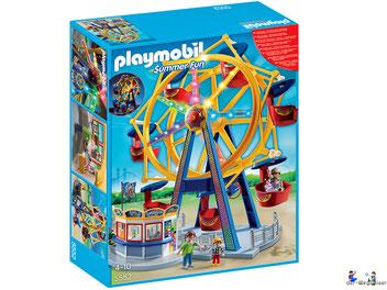"""Bei der Bestellung im Onlineshop der-Wegweiser erhalten Sie das Playmobil Paket 5552 """"Riesenrad mit bunter Beleuchtung""""."""