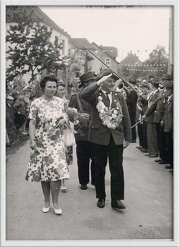1961 Karl Stock und Ruth Knäuper