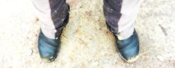 Mir tun die Füße weh...