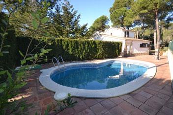 Location villa Begur pour 7 personnes avec piscine privée.