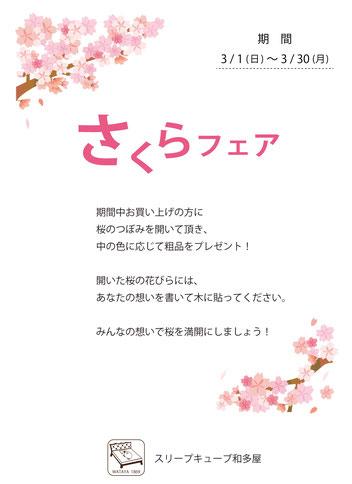 さくらフェア / スリープキューブ和多屋・マニステージ福岡